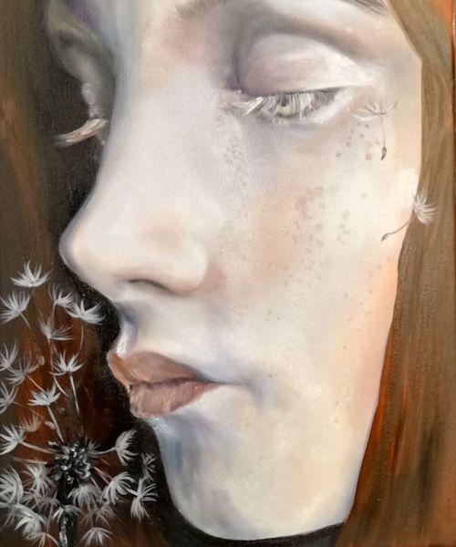 Ölmalerei, Aphaca, Portrait, Malerei