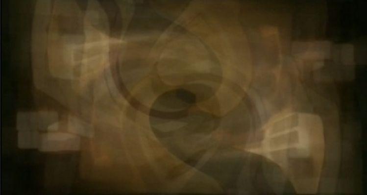 Lichtgedreht, Zeitschattiert, Raumverwirbelt, Digitale kunst