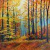 Baum, Herbst, Natur, Herbstwald