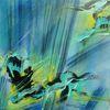 Edelstein, Mischtechnik, Abstrakte malerei, Malerei