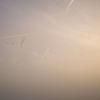 Aufbruch, Sonnenaufgang, Norddeutschland, Wanderung