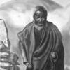 Mönch, Tibet, Bleistiftzeichnung, Zeichnungen