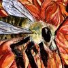 Honigbiene, Insekten, Lebensspender, Malerei