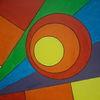 Geometrisch, Bunt, Malerei