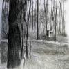 Zeichnung, Landschaft, Natur, Malerei marcel heinze