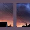 Text, Morgen, Wolken, Himmel