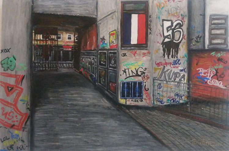 Tags, Graffiti, Hamburg, Schanze, Malerei