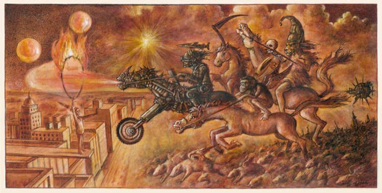 Unheil, Soldat, Apokalypse, Toleranz, Kalter krieg, Alptraum