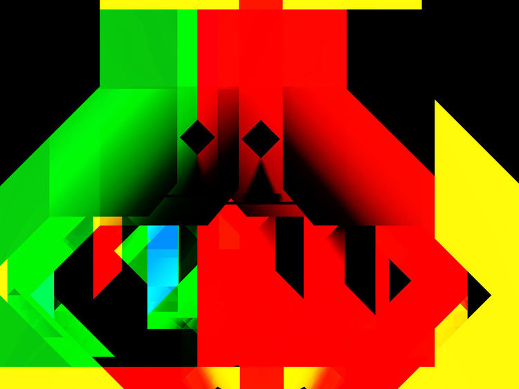 Abstrakt, Digital art, Digitale kunst,