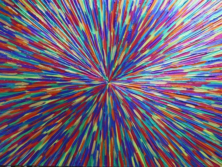 Welt, Gemälde, Abstrakt, Menschen, Malerei, Hoffnung