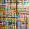 Gemälde, Abstrakt, Acrylmalerei, Bunt
