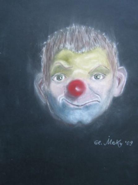 Berlin, Lachen, Pastellmalerei, Clown, Weinen, Zeichnungen