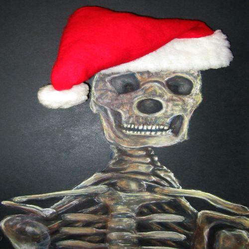 Weihnachten, Berlin, Weihnachtsmann, Illustrationen, Achtung,