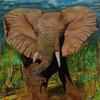 Wütender Elephant
