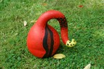 Kürbisse, Garten, Kunsthandwerk