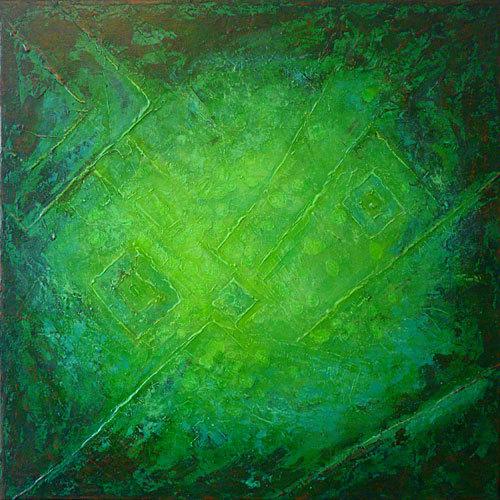 Fantasie, Acrylmalerei, Relief, Hartfaser, Abstrakt, Spachtelstruktur