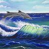 Natur, Tiere, Meer, Wasser