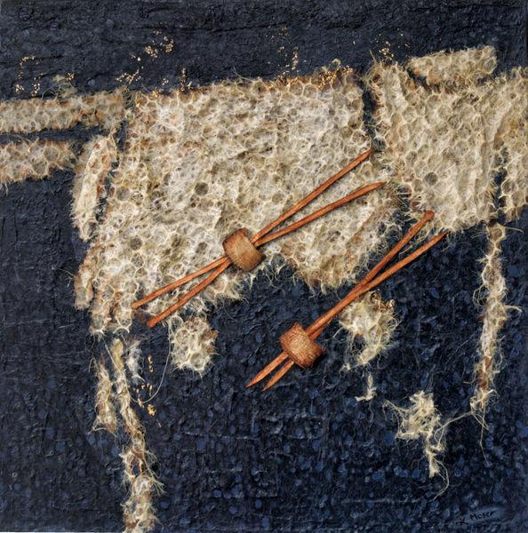Pullover, Leben, Schaf, Stricken, Mischtechnik