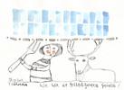 Hirsch, Akkordeon, Petrus, Realitätsgrenze