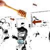 Schleim, Honig, Muss, Digitale kunst