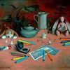 Gemälde, Gift, Malerei, Realismus