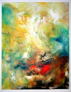Gemälde, Malen, Modern, Malerei, Kunstwerk, Abstrakt
