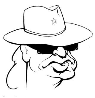 Udo Lindenberg Karikatur