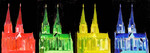 The colours of Cologne - artcraft cathedral cologne dom köln of siber world