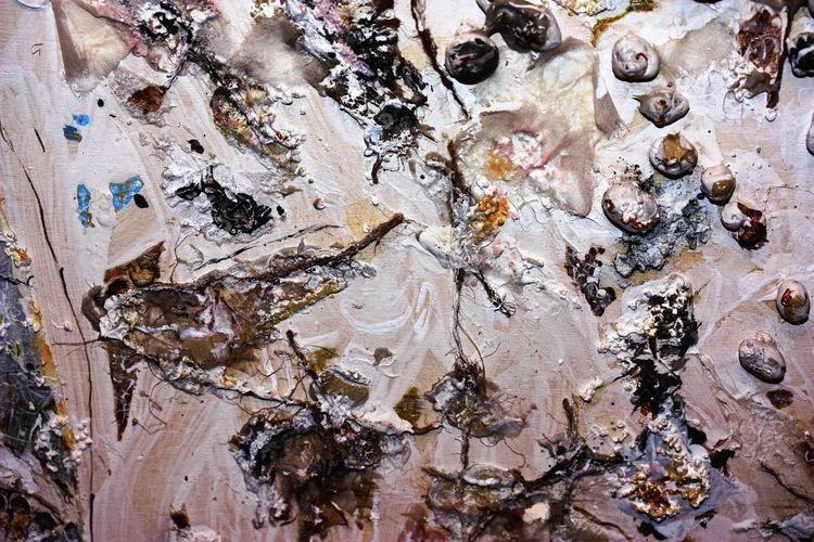 Abstrakt, Holz, Acrylmalerei, Malerei