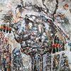 Pappe, Acrylmalerei, Fantasie, Malerei
