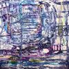 Abstrakt, Traum, Acrylmalerei, Malerei