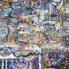 Acrylmalerei, Abstrakt, Pastellmalerei, Holz