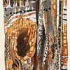Abstrakt, Acrylmalerei, Schwemmholz, Plastik