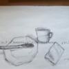 Stillleben, Wien, Skizze, Zeichnungen