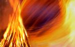 Sonnwendfeuer, Feuer, Mittsommernacht, Johannisfeuer