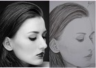 Skizze, Leidenschaft, Frau, Zeichnungen
