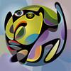 Farben, Kreatur, Metapher, Vektor