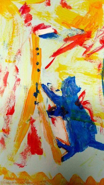 Frankreich, Klischee, Malerei, Paris