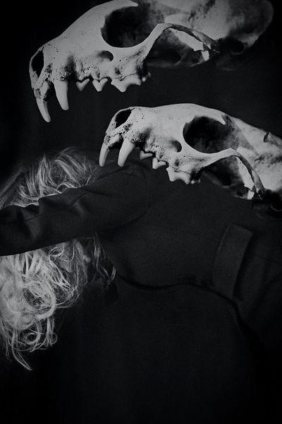 Dunkel, Monochrom, Emotion, Frau, Fotografie, Schwarzweiß