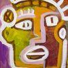Malerei, Menschen, Nativ