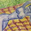 Menschen, Figural, Skizze, Zeichnungen