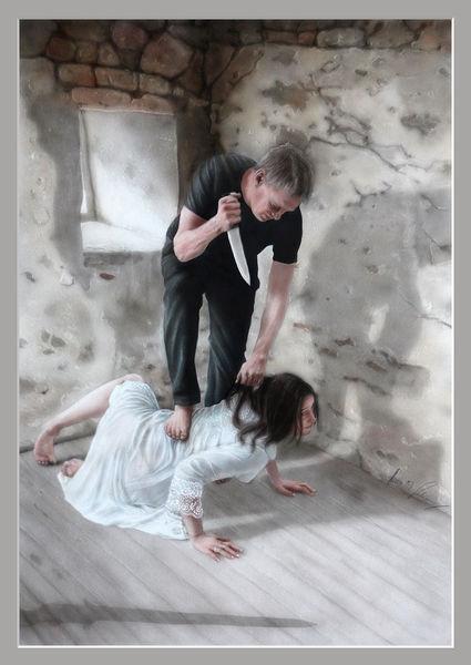 Airbrush, Gewalt, Buch, Mord, Prinzessin, Mann
