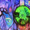 Schwarzlicht, Psychedelisch, Abstrakt, Pilzvergiftung