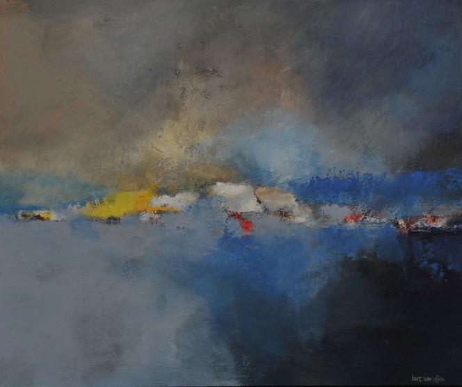 Abstrakt, Oijen, Bart, Malerei, Northern,