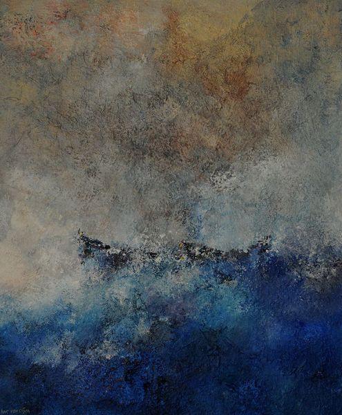 Wind, Himmel, Storm, Blau, Wasser, Malerei