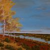 Herbst, Gemälde, Zeitgenössisch, Malerei