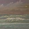 Ölmalerei, Realismus, Meer, Zeitgenössisch