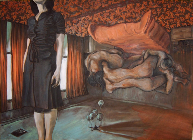 Malerei, Figural, Zimmer