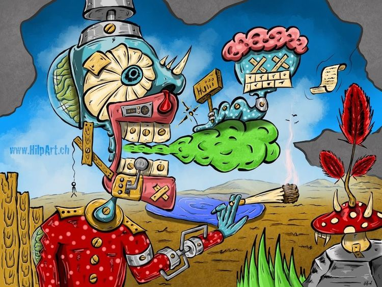 Grafik, Malerei, Surreal, Digitale kunst