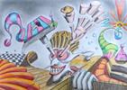 Fantasie, Comic, Surreal, Zeichnungen